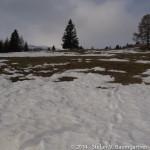 Ausgangspunkt der Skitour bei der Sabathyhütte