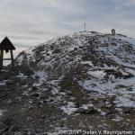 Kurz vor dem Gipfel des Zirbitzkogels