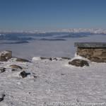 Wunderbare Fernsicht am Gipfel des Zirbitzkogels