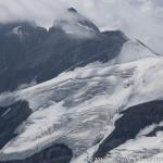 Blick zum Großglockner (3798 m) vom Gipfel des Johannisberg (3453 m)