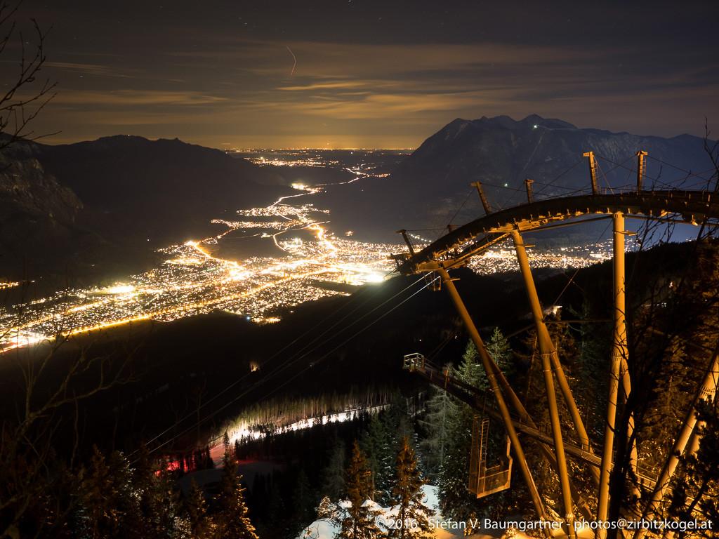 Blick hinunter nach Garmisch-Partenkirchen