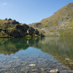 Der Lavantsee (2053 m), Ursprung der Lavant