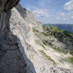 Nordwandsteig an der Alpsitze