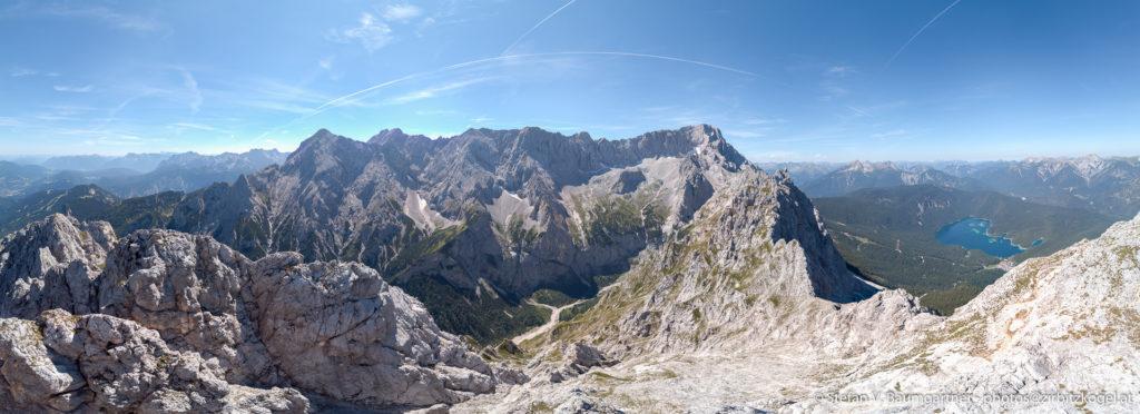 Panorama vom Großen Waxenstein