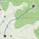 Zirbitzkogel-Normalweg, dargestellt mit der App Pocket Earth