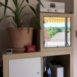 Magic Mirror im IKEA KALLAX-Regal