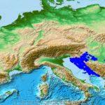 Berggipfel in Kroatien