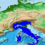 Berggipfel in Italien