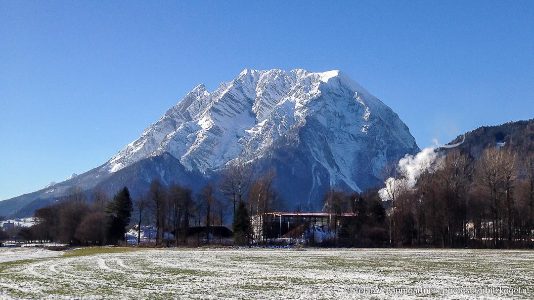 Grimming nach dem ersten Schneefall im Jahr 2013