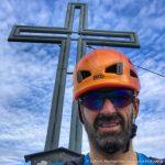 Am Gipfel des Hohen Grimming (2351 m)