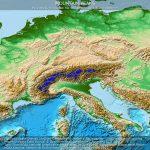 Gipfel der Alpen mit einer Höhe von mindestens 3000 m