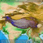 Gipfel im Himalaya, Karakorum, Pamir und in der Tibetischen Hochebene