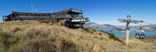 Bergstation der Christchurch Gondola